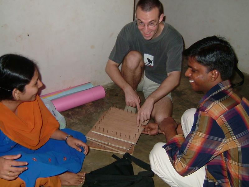 John's team ( Suresh, Pushpa)