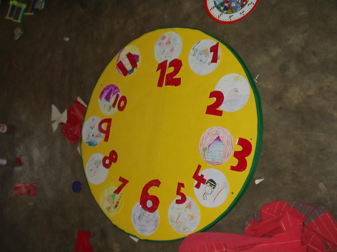 Clocks in progress
