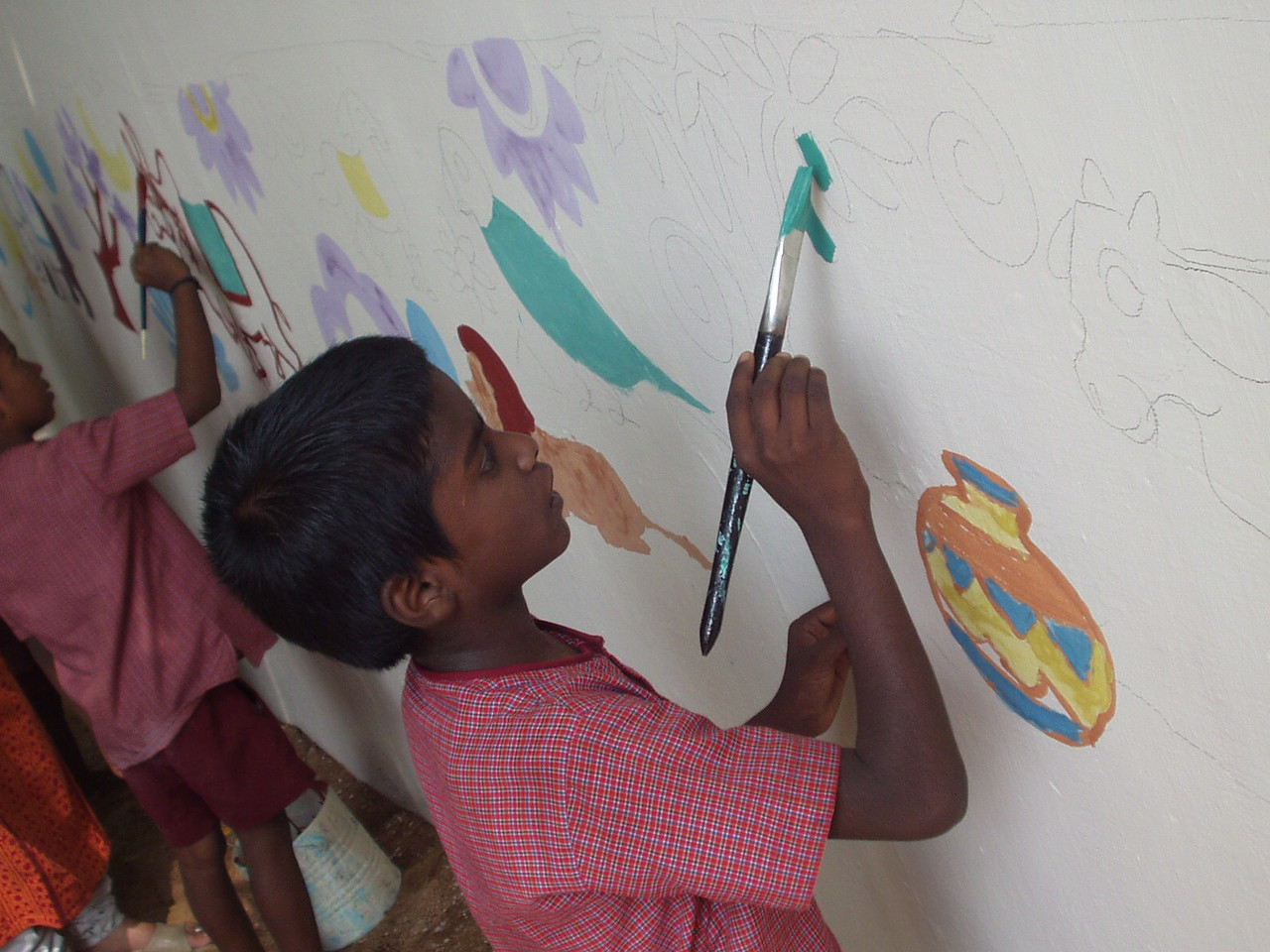 Painting the wall 2