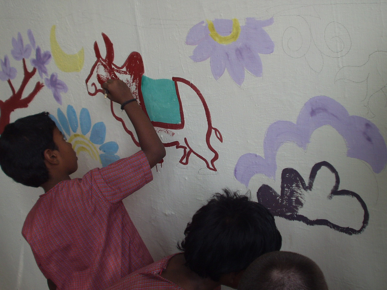 Painting the wall 3