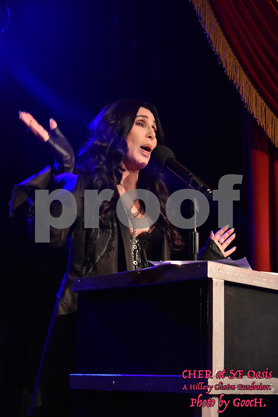 Cher at Oasis - 23rd Oct 2016.