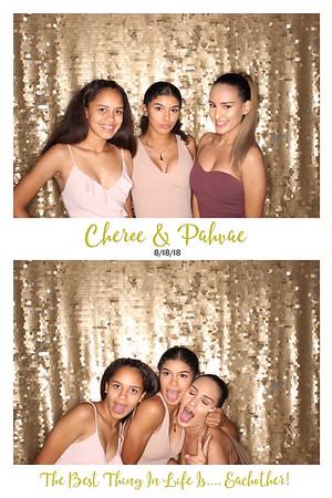 Cheree & Pahvae Wedding (Studio Booth)