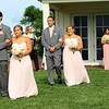 Bridesmaids, groomsmen and the maid of honor