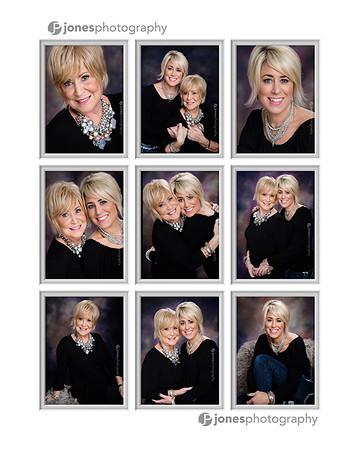 Carol and Tanya 9 up