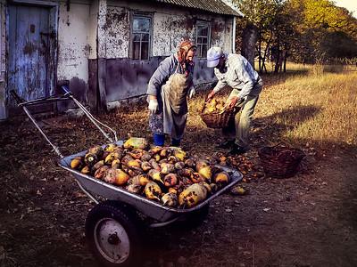 21 Chernobyl zone farm © David Bickerstaff