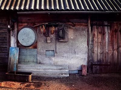 19 Chernobyl zone farm © David Bickerstaff