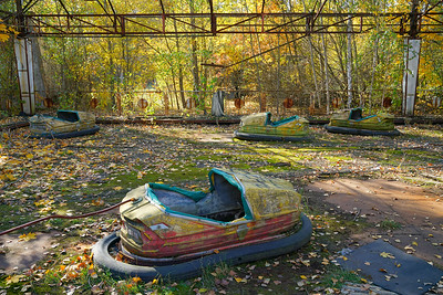 Used to be kids rides3 - highly radioactive still