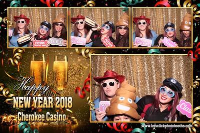 Cherokee Casino Ft. Gibson NYE 2017