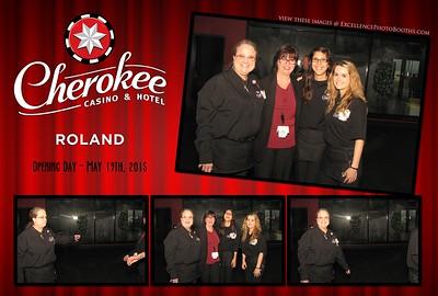 Cherokee Casino Roland May 19th