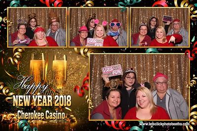 Cherokee Casino Tahlequah NYE 2017
