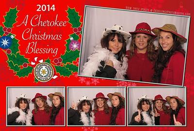 Cherokee Christmas 2014 Upstairs Booth