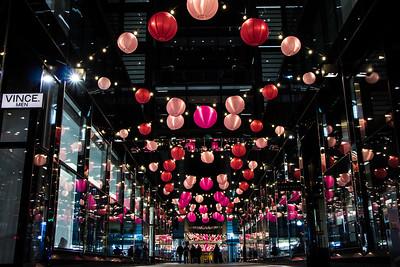 CityCenterDC - Cherry Blossom Lanterns