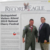 "Monday, July 5, 2010 : Visit the Record-Eagle booth at the Cherry Festival and get your ""Distinguished Visitor"" photo taken! Download your photo here for free, or buy a reprint.