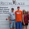 "Thursday, July 8, 2010 : Visit the Record-Eagle booth at the Cherry Festival and get your ""Distinguished Visitor"" photo taken! Download your photo here for free, or buy a reprint.  To download your photo: Click the thumbnail image, and once the larger photo loads, right-click on the image and choose the Save option.  To purchase a reprint: Click the thumbnail image, and once the larger photo loads, click the Buy button above the photo to the right."