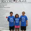 "Tuesday, July 5, 2011 : Visit the Record-Eagle booth at the Cherry Festival and get your ""Distinguished Visitor"" photo taken! Download your photo here for free, or buy a reprint.