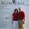 "Wednesday, July 6, 2011 : Visit the Record-Eagle booth at the Cherry Festival and get your ""Distinguished Visitor"" photo taken! Download your photo here for free, or buy a reprint.