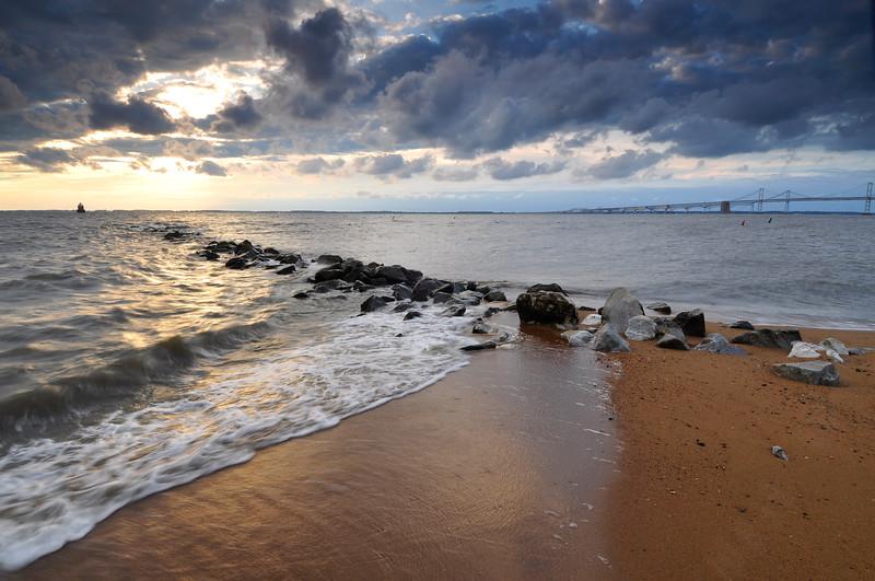 Sandy Point Sheen at Sunrise