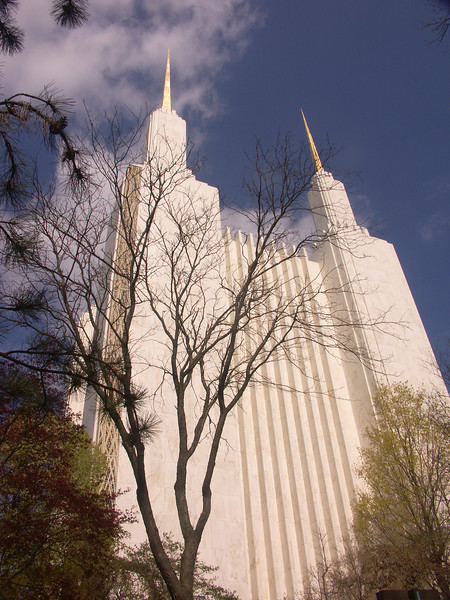 Morman Temple on the DC beltway.