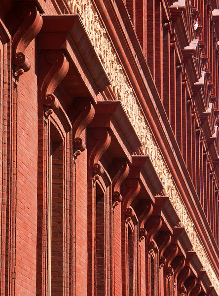 Outside the National Building Museum.