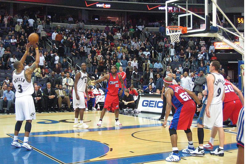 Washington Wizards in Verizon Center.