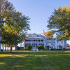 Front lawn, Wades Point Inn