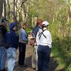09 Kurt Schwarz (orange cap) leads nature walk focusing on birds