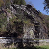 Maryland Heights cliffs above the C&O Canal berm at Harpers Ferry