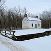 1/25/2014 C&O Canal Association Continuing Hike Series led by Pat White. Edwards Ferry upstream to inspect Broad Run Trunk or Aqueduct. Turned around at milepost 32 and hiked to the Goose Creek River Lock.