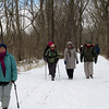 C&OCA hikers did about face at milepost 32 are are headed to Goose Creek River Lock