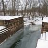 Ice in Broad Run due to recent frigid temperatures