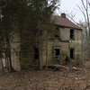 Old abandoned house on the way to Fort Duncan