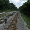 CSX tracks looking east from above Culvert 82 (Little Catoctin Creek)