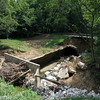 Cutaway view of the remains of  Culvert 82 (Little Catoctin Creek (Level 20)