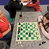 Kids play some chess at the Boys and girls Club of Fitchburg and Leominster on Wednesday afternoon. Madison Fluet, 11, of Leominster plays a match with councilor Josie Rivera. SENTINEL & ENTERPRISE/JOHN LOVE