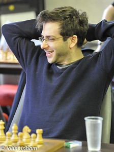 David Moskovic (Cambridge University) needing a win from the final round for an IM norm.