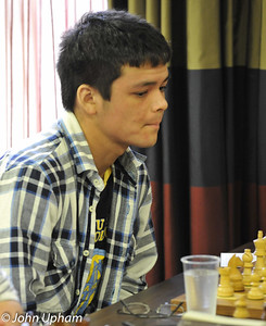 Sam Franklin (Barbican 4NCL) who gained an IM norm during the final weekend.