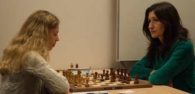 Maria Yurenok (BCM Dragons) and Ketevan Arakhamia-Grant (Wood Green, Hilsmark Kingfisher)