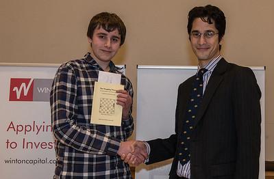 Winton Capital British Chess Problem Solving Championships 2016