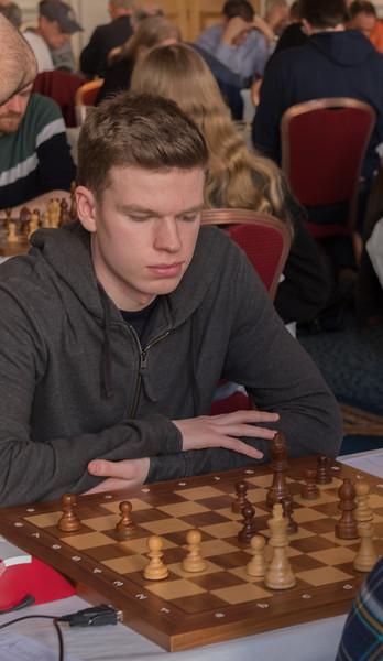 Joseph McPhillips, open section joint winner