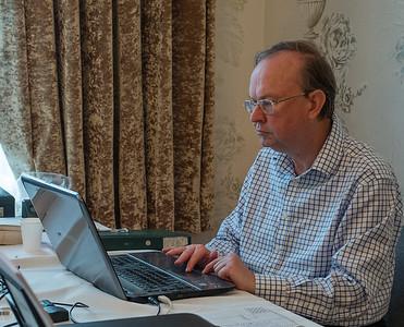 Ian Clark, organiser