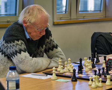 Roger de Coverly, British over 65 champion