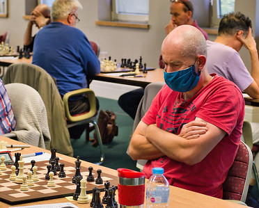 Mike Waddington, British over 50 champion