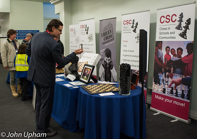 CSC was a popular stand at the London Chess Classic 2012 with many raffles and auctions to raise funds for the CSC charity.