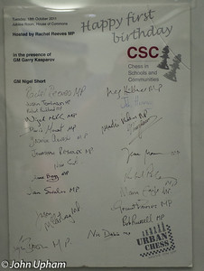 CSC has gained a large number prominent supporters.
