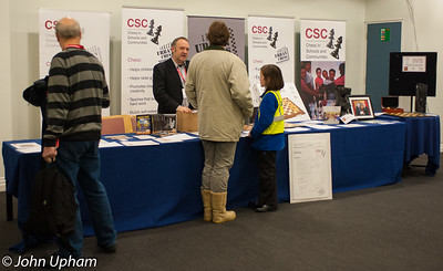 CSC was a popular stand at the London Chess Classic 2012