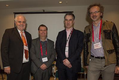 John Foley, Chris Fegan, Malcolm Pein and Stefan Löffler