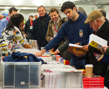 The CHESS & Bridge bookstall attracted a roaring trade including the 2007 British Champion, Jacob Aagaard