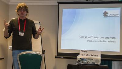Niels van der Mark, Doetinchem Chess Club, Netherlands, Chess Co-ordinator, asylum seekers