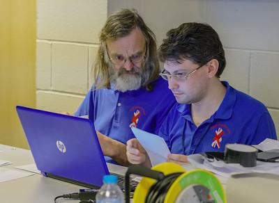 Dave Thomas & Matthew Carr (arbiters)