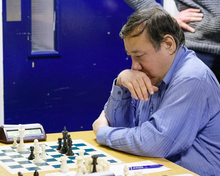 Mark Hebden, open section winner
